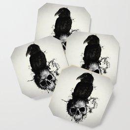 Raven and Skull Coaster