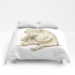 Sloth With Flower Comforters