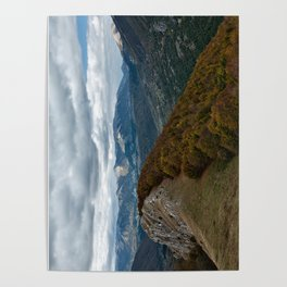 Abruzzo National Park from above Poster