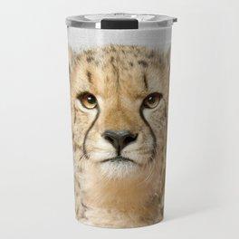 Cheetah - Colorful Travel Mug