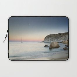 """SuperMoon in Plomo Beach"" Laptop Sleeve"