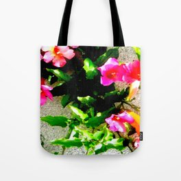 Floral Up Tote Bag