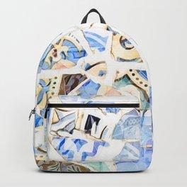 Mosaic of Barcelona XII Backpack