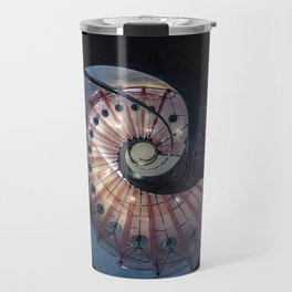 Spiral glass staircase Travel Mug