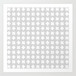 Celeste Grey Art Print