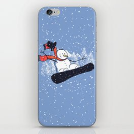 Snow Ahead! iPhone Skin