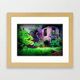 Cavers Castle Ruins Framed Art Print