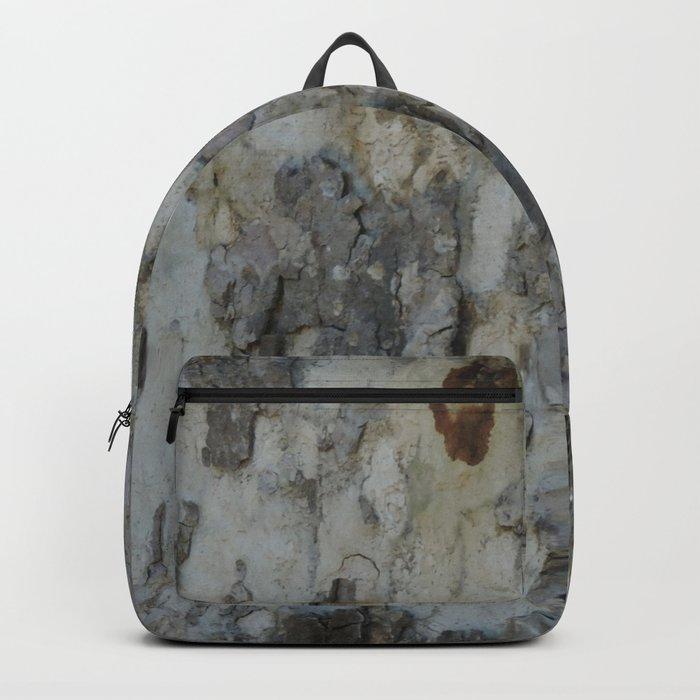 TEXTURES -- California Sycamore Bark Backpack