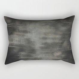 Dirty glass vintage stripes brush Rectangular Pillow