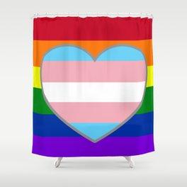 Pride Love Shower Curtain