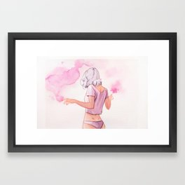 Sortilège Framed Art Print