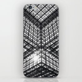 Metal and Glass iPhone Skin