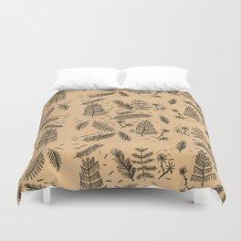 Kraft Paper Pine Duvet Cover