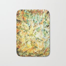 Acrylic textured painting by Annette Bath Mat