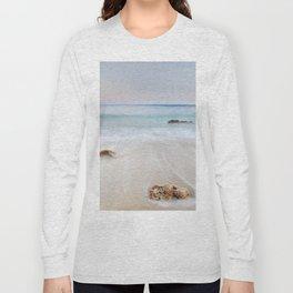"""Serenity beach"". Sunset at the beach Long Sleeve T-shirt"