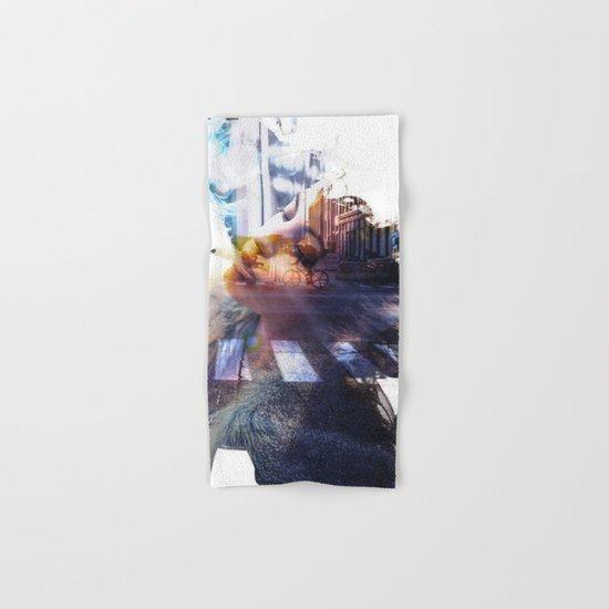 collage# street Hand & Bath Towel