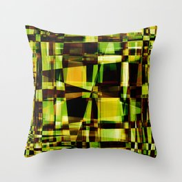 Abstract Achitecture Throw Pillow