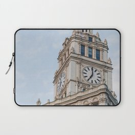 Wrigley Clock - Chicago Photography Laptop Sleeve