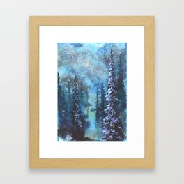 I Live For The Imperfections Framed Art Print