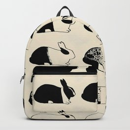 Studies of heredity in rabbits- William E.Castle - 1919 Cute Bunny Pattern Backpack