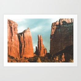 Desert Vortex Art Print