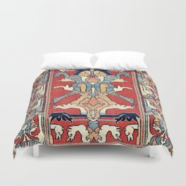 Sehna Kurdish Northwest Persian Rug Print Duvet Cover