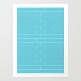 Brickston - Antacid Art Print