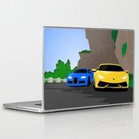 lamborghini Laptop & iPad Skins featuring Lamborghini & Bugatti by Szilárd A Legjobb