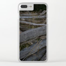 Holding the Line Clear iPhone Case
