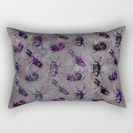 violet bugs Rectangular Pillow