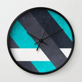 stripes 2 Wall Clock