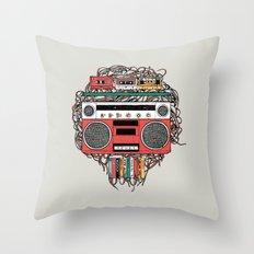 Radioinactive Throw Pillow