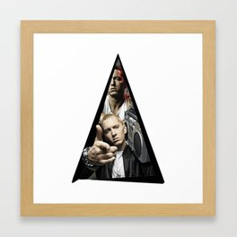 Youtriangle ∆ Eminemm Framed Art Print