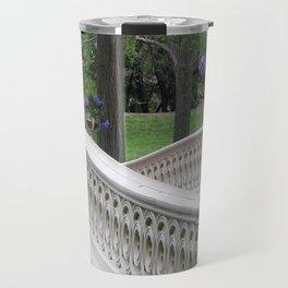 Bow Bridge Central Park New York Travel Mug