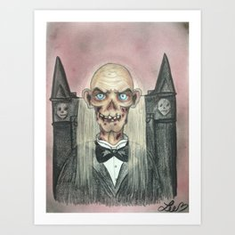 The Crypt Keeper Art Print