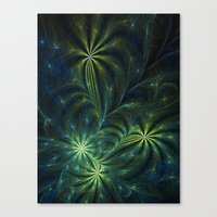 weed Canvas Prints featuring Weed by Eli Vokounova