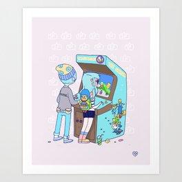 Insert 25 Cents Art Print