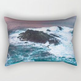 Sunset on the Bay of Biscay Rectangular Pillow