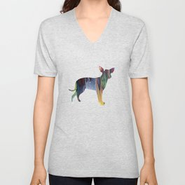 Chihuahua Unisex V-Neck
