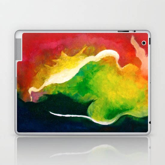 Water and Fire Laptop & iPad Skin