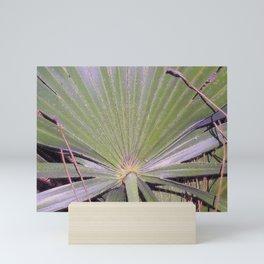 Saw Palmetto Abstract Mini Art Print