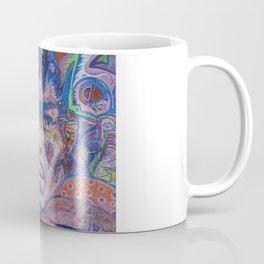 Psychedelic Haze Portrait Coffee Mug