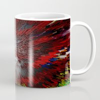 because cats Mugs featuring Because by Vibrance MMN