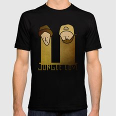 Jay and Silent Bob Strike Back (2001) Mens Fitted Tee MEDIUM Black