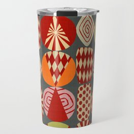 christmas tree MINIMALIST Travel Mug