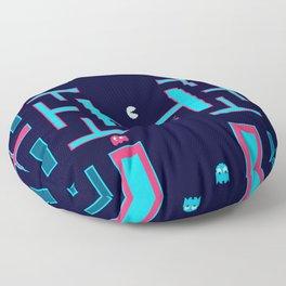 Pacman #36DaysOfType Floor Pillow
