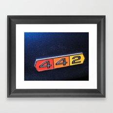 442 Framed Art Print