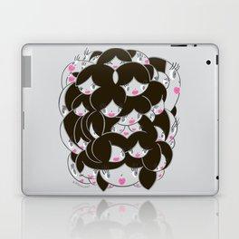 Girlie Heads! Laptop & iPad Skin