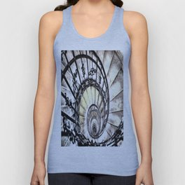 The Spiral Staircase Unisex Tank Top
