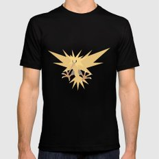 Zapdos Mens Fitted Tee Black SMALL